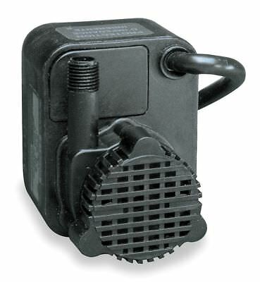 Little Giant 1/125 HP Compact Submersible Pump, 115V Voltage, Continuous Duty, 6