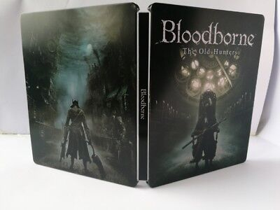 New Bloodborne custom paint Iron disc box case steelbook for PS4 Xbox disk