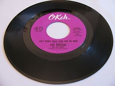 Otis Williams - Ain't Gonna Walk Your Dog No More / Your Sweet Love - Okeh