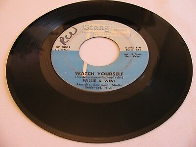 Willie West - Watch Yourself / Always Lovers - Stang