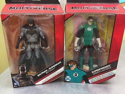DC Multiverse SuperFriends Green Lantern Batman  Lot Of 2 NIB MUST SELL Read