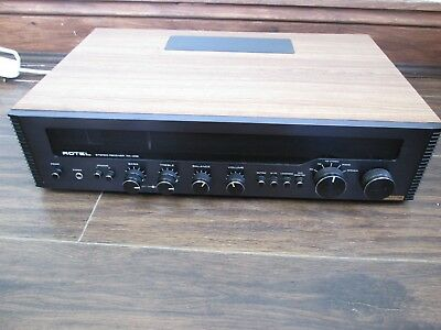 Rotel Rx 402 Vintage Receiver, Tuner, Excellent Condition And Full Working Order