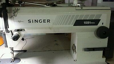 Industrial Singer sewing machine, model 1591 D300A
