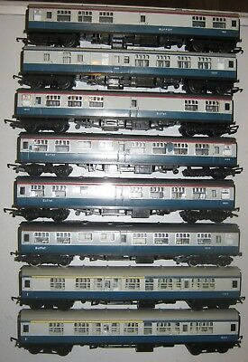 Hornby Triang British Rail Blue Grey Coach Collection job lot