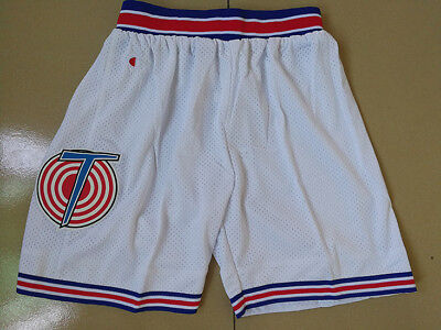 Jordan Space Jam Shorts Tune Squad Pants Basketball White Looney Toones AL