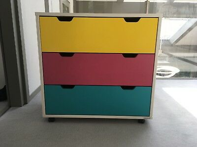 Aspace 'Juicy Fruits' Children's 3 Drawer Chest of Drawers