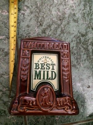 Whitbred Best Mild Illuminated Pump Font Vinyage Bar Pub Rare Man Cave
