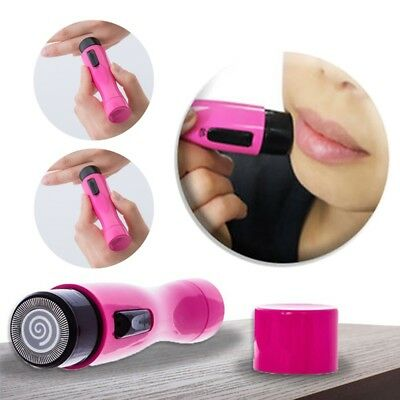 Glamza Silent Ladies Hair Remover Electric Bikini Legs Face Mini Rotary Shaver