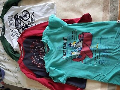 Boys Fat Face Bundle 4 Tops Size 8-9 years