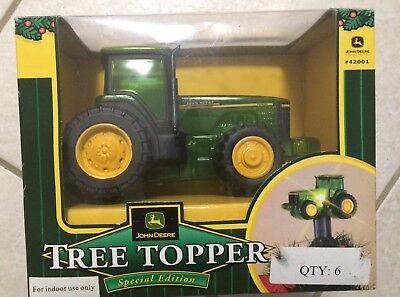 John Deere Christmas Tree Topper LIGHTED Tractor Special Edition