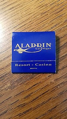 Book of Matches from the Aladdin Casino in Las Vegas