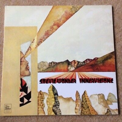 Stevie Wonder - Innervisions LP Vinyl Album Original Gatefold