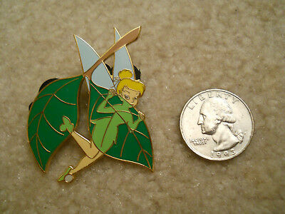 Disney Auctions PINS Exclusive LE 1000 Tinker Bell Behind Leaf Lantern Pin