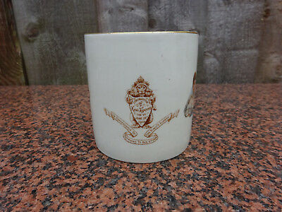 Rare 1902 Coronation Postphoned August 9th Royal Doulton.