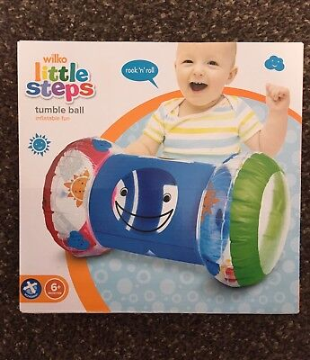 Little steps tumble ball inflatable fun 6+ Months