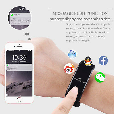 Sports Smart Watch Blood Pressure Heart Rate Monitor Fitness Activity Tracker UK