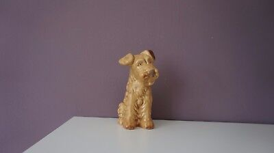 SylvaC pottery terrier dog