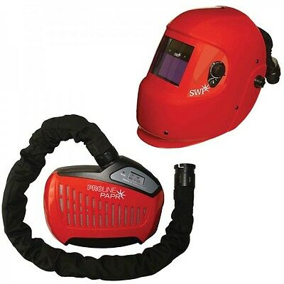 SWP Proline 3044 Auto Darkening Welding Helmet c/w Fresh Air Breathing System