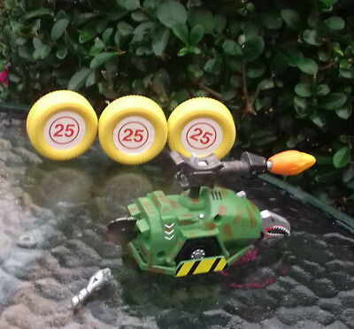 """Bbc/logistix Retail Kids """" Robot Wars Sgt Bash Pullback """" As Supplied In 1998"""