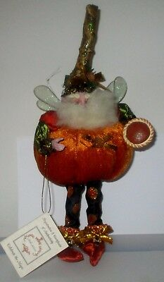 MARK ROBERTS PUMPKIN PIE FAIRY SMALL # 51-53152 LIMITED EDITION  #1314 of 2,500