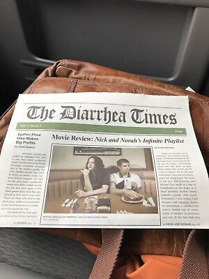 The DIARRHEA TIMES from Nathan for You