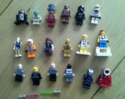 Lego star wars and other minifigures