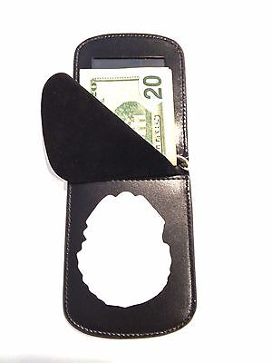 RFID Badge Wallet US Capitol Police USCP Front Pocket C/C Money Leather