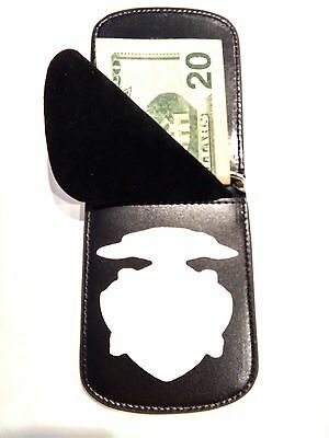 RFID Montgomery Ala. Police Officer's Front Pocket Badge Wallet  BI FOLD S-26