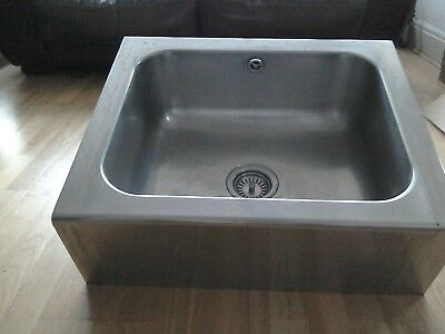 Stainless Steel Butler Sink - Used But In Very Good Condition