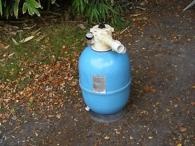 Lacron 457-18'' Sand Filter With Multi Port Valve, Perfect Working Condition