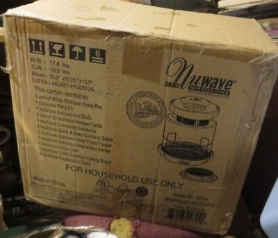 NUWAVE Infrared Oven Model 20344 New with extender ring kit