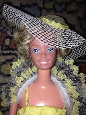 "Vds Vintage Poupee Mannequin ""barbie"" 1978 Pretty Changes Superstar Mattel"