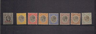 Tanganyika. 1927  A selection of mint stamps to 50c. MH.