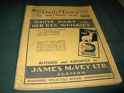The Daily Mirror Weekly Overseas Edition Thursday 23Rd January 1936