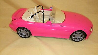 Barbie Motorized Pink Convertible Cruisin Car Mattel 1996 Italy
