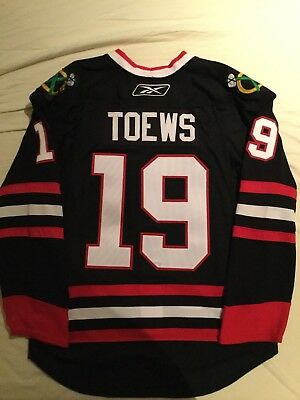 Authentic Black Toews Chicago Blackhawks NHL 3rd EDGE Jersey