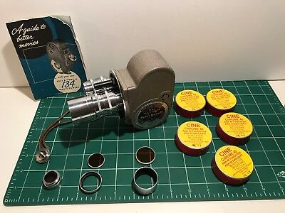 Bell & Howell 134TA 8mm movie camera - Excellent, with Film