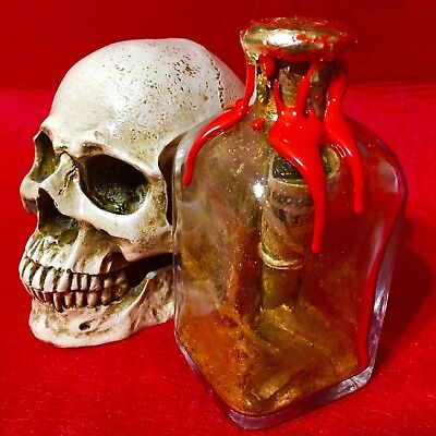 Amulet bottle fortune and money Ritualized