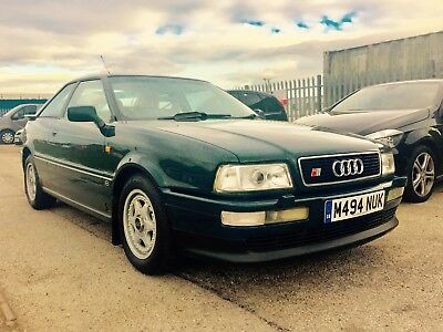 Audi 80 Coupe 2.6 V6 Ex Show Car, S2 Bits, Green. S2 Bits and Pieces.