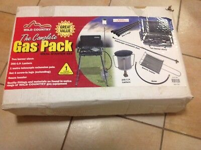 Wild Country Camping Gas Pack (Lantern, Stove, Stand & Accessories)