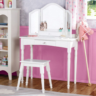 Great Little Trading Company Children's Dressing Table & Stool Set - Freya