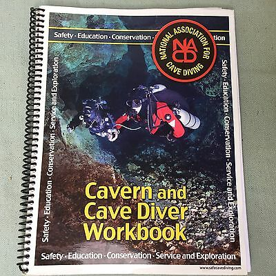 Book Nacd Cavern And Cave Diver Workbook Scuba Diving Explore Safety Guide Learn