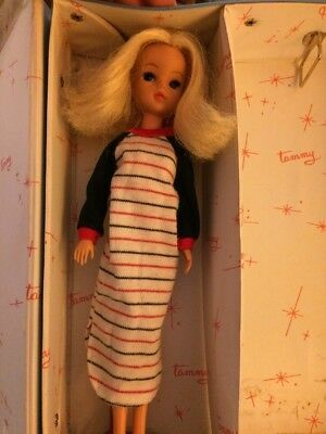 Sindy Doll Vintage Outfit Sleeping Stripes