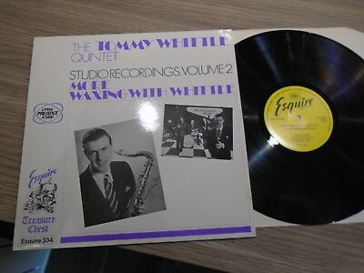 Tommy Whittle Quintet More Waxing With Whittle vinyl LP UNPLAYED Esquire
