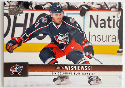 2012-13 Upper Deck #48 James Wisniewski Kassel Huskies