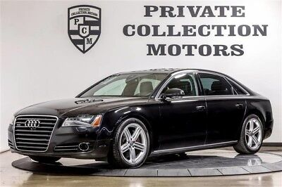 2013 Audi A8 Base Sedan 4-Door 2013 Audi A8 L 2 Owner CPO Warranty Clean Carfax Low Miles