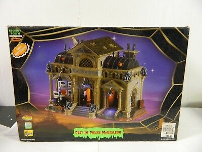 Lemax Halloween Spooky Town Collection Rest in Peace Mausoleum