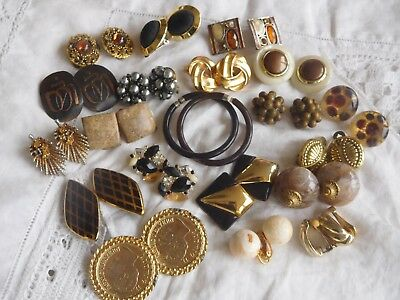 Lovely Collection of Vintage 1950s/60s Clip ON Earrings
