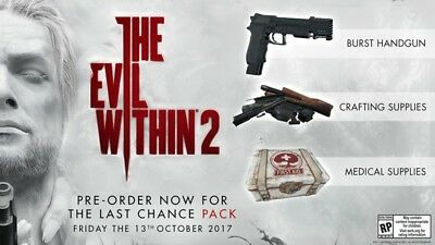 PS4 The Evil Within 2 Last Chance Pack DLC