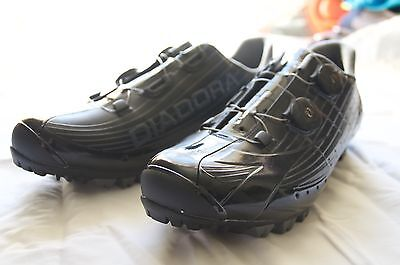 Diadora X Vortex Pro MTB SPD Shoes Black Carbon Boa